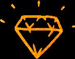 Icône diamant